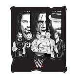 "WWE WE0621 All Stars Fleece Throw Blanket, 50 x 60"" offers"