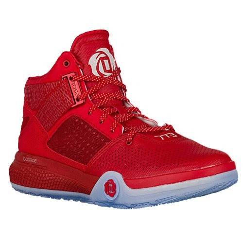 competitive price 8f592 997fe Galleon - Adidas D Rose 773 IV Basketball Shoe ScarletBlackW
