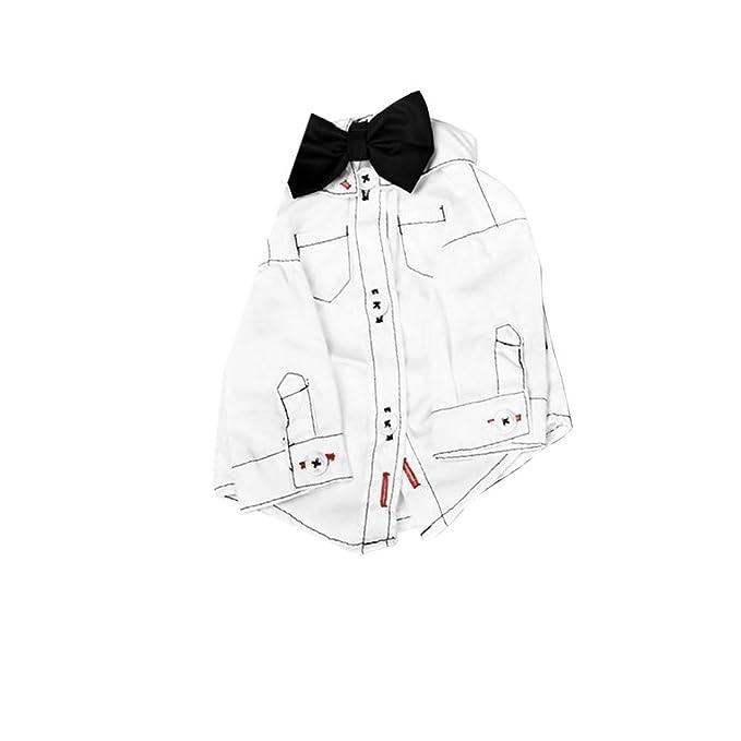 Sacapuntas Cuello corbata Perros Camisa de ropa de mascotas de ...