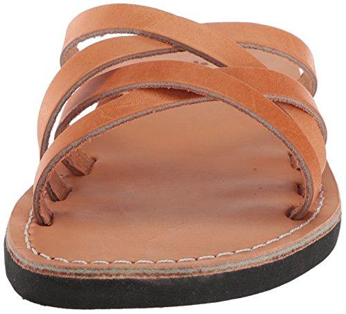Tan Slide Sandals Gad Sandale Jerusalem Männer waPqHHX