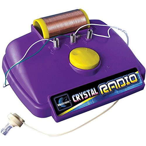 Maxitronix Crystal Radio Experiment Kit