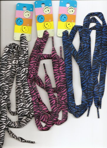 Colorful Shoelaces Colorful Shoelaces pairs Zebra