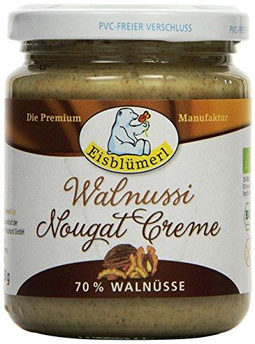 Nürnberger Bio Originale Walnussi - weiße Walnuss-Nugatkrem Bio Brotaufstrich Nussig, 1er Pack (1 x 0.25 kg)