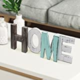 Originalidad HOME Word Decor HOME Word Sign Rustic Wood HOME Decorative Sign HOME Decor Standing Cutout HOME Word Decor