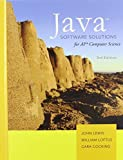 Java Software Solutions AP Comp. Science by John Lewis William Loftus Cara Cocking (2010-01-22) Hardcover