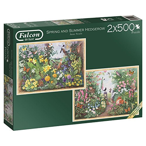 Jumbo Spring & Summer Hedgerow Jigsaw Puzzle (2 x 500) (1000 Piece)