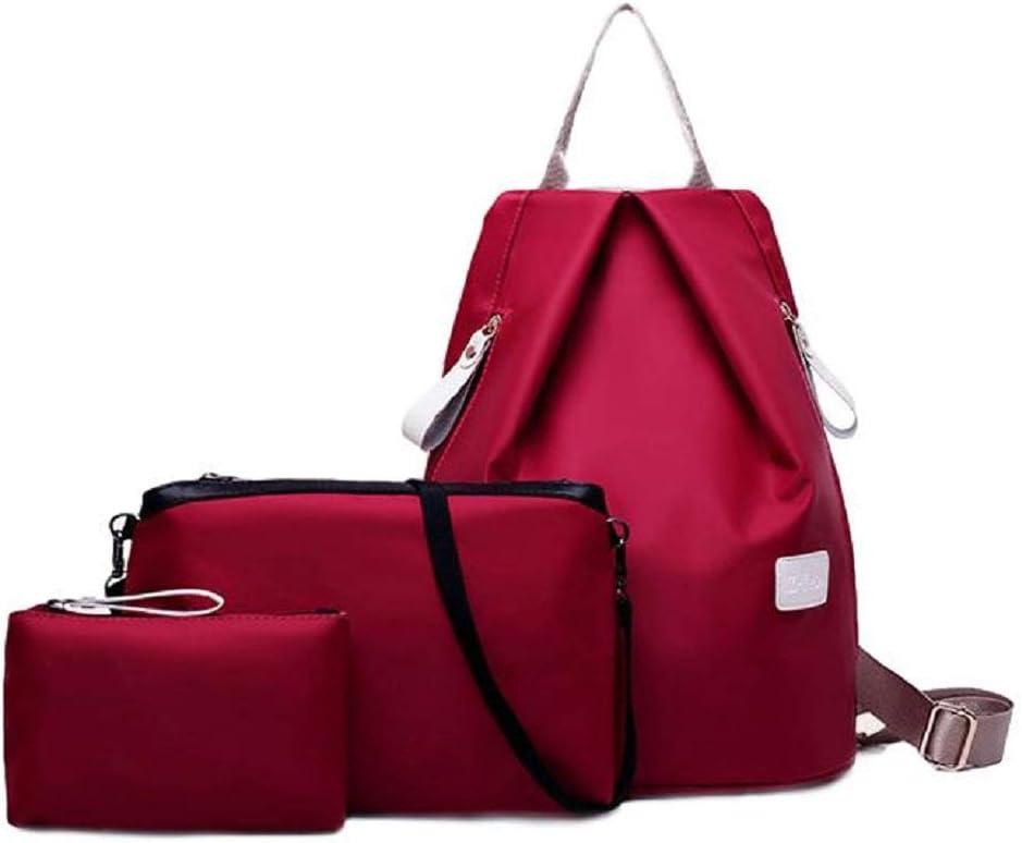 Red Tamayura Waterproof nylon backpack for women Nylon bag Shoulder bag Mother bag
