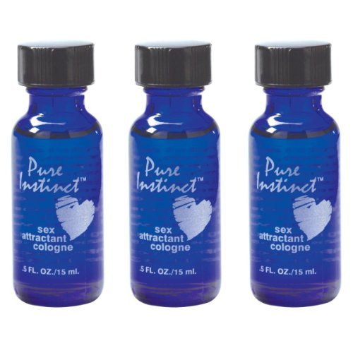 Pure Instinct 3 Pack - Pheromone Infused Perfume/cologne by Therdraiss (Cologne Pheromone Attractant)