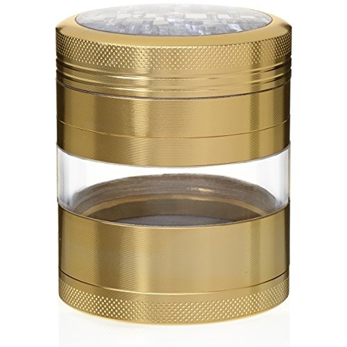 MojoGrinders Top Rated Premium Tobacco Herb Weed Grinder - 4