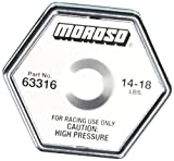 Moroso 63316 16 lbs. Radiator Cap