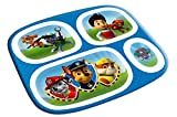 Paw Patrol Melamine Plate with Dividers