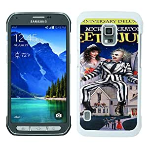 Samsung Galaxy S5 Active case,Unique Design Beetlejuice 1 White cell phone case for Samsung Galaxy S5 Active