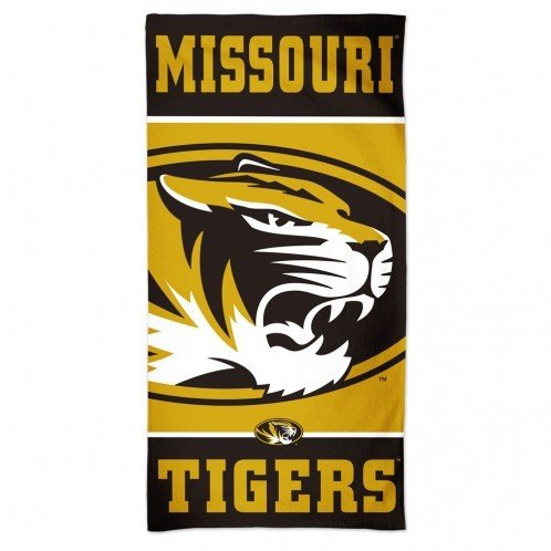 WinCraft Missouri Tigers Beach Towel - Gold