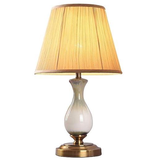 HLM- Tabla lámpara- Mesa de Dormitorio de la lámpara lámpara de ...