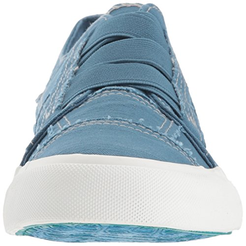 Blowfish Women's Marley Sneaker, Black, Medium Blue