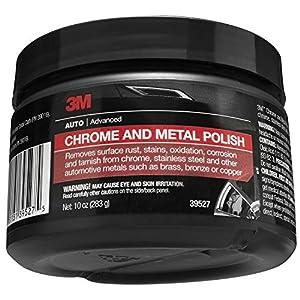 3M 39527 Chrome and Metal Polish - 10 oz.
