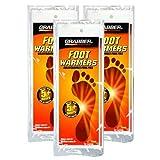 Grabber- Heat Treat Foot Warmer Insoles 3-Pack - Medium