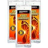 Grabber Heat Treat Foot Warmer Insoles 3-Pack - Small/Medium OR Medium /Large