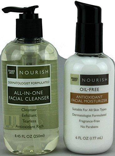 Trader Joes Cleanser Antioxidant Moisturizer