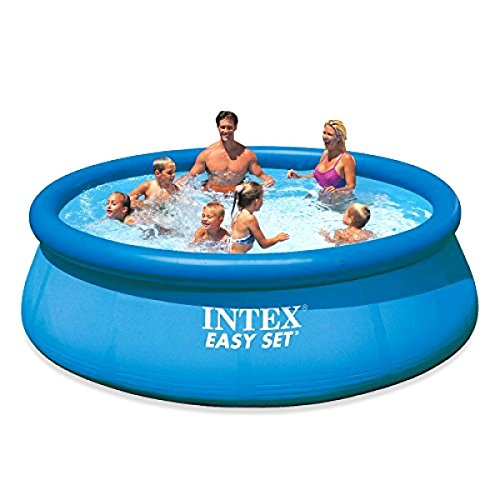 Intex 12ft X 30in Easy Set Round Swimming FUN Blue Pool S...