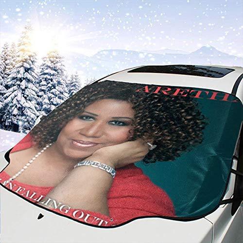 JasonARamirez Aretha Franklin A Woman Falling Out of Love Car Sunshield,Suitable for Most Cars,Waterproof,Weatherproof