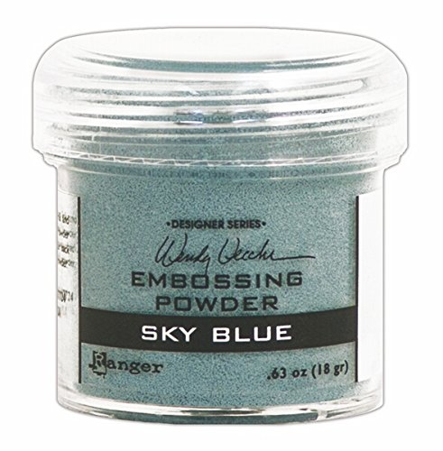 Ranger WEP-45731 Wendy Vecchi Embossing Powders, 1 oz, Sky ()
