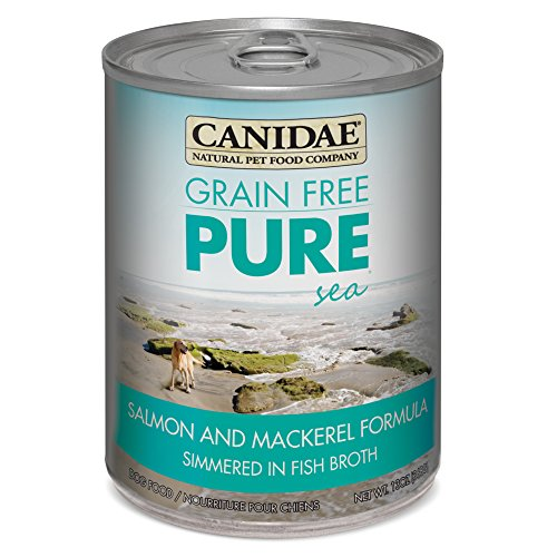 CANIDAE Grain Free PURE Sea Dog Wet Formula with Salmon & Mackerel, 13 oz (12-pack)
