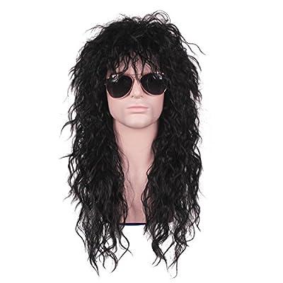 ColorGround Long 80s Fashion Smart Rocker Style Wig