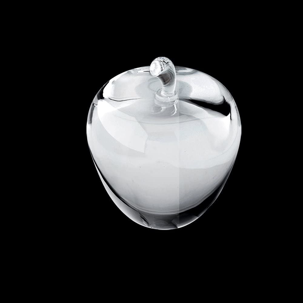Crystal Apple Paperweight