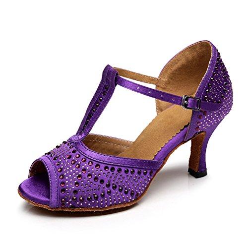 Mesdames Mariage De Chaussures Danse Orteils Ouvrent Cxs Talons qIw4ZI