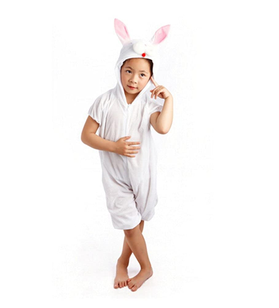 baycon Kids Animal Jumpsuit Costume Romper Frog Mouse Rabbit Chicken Cartoon Pajamas
