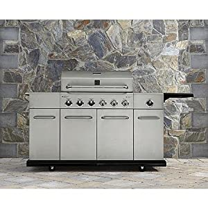 Amazon Com Kenmore 6 Burner Stainless Steel Gas Grill