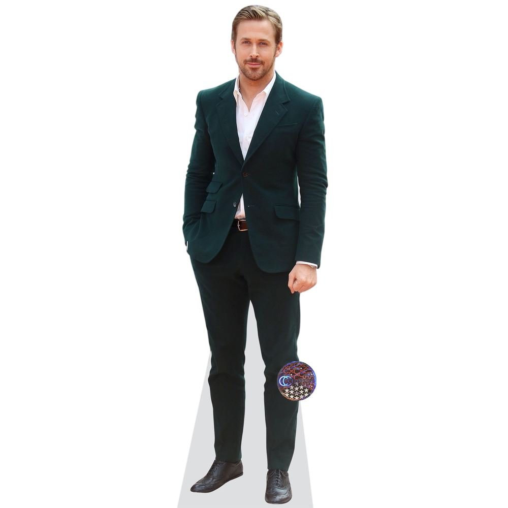 Ryan Gosling (Green Jacket) Grandeur Nature Celebrity Cutouts