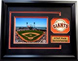 CGI Sports Memories San Francisco Giants AT&T Park Photo Frame with 3D Double Mat