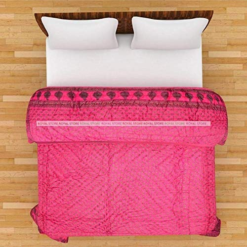 old man ugg (AMAZ0N Home) Quilts Self Design Printed Satin Wedding Bedding Set (Set of 1 pcs) 1 Double Bed ()