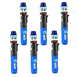 6 Pack Turbo Blue Torch Stick Multi Purpose Refillable Butane Lighter