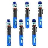 6 Pack Turbo Blue Torch Stick Multi Purpose Refillable Butane Lighter
