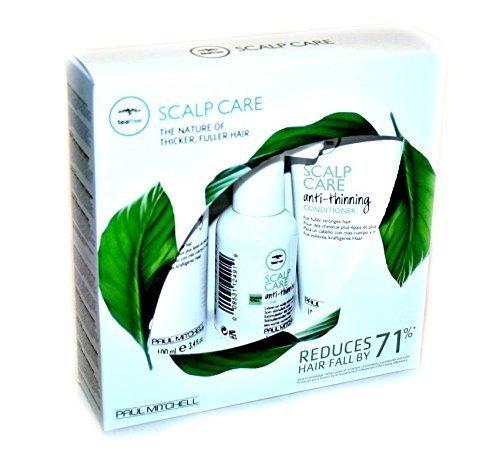 Paul Mitchell Tea Tree Scalp Care Kit Shampoo 3.4 fl oz Conditioner 3.4 fl. oz Tonic 1.7 fl. set (Tonic Leave)
