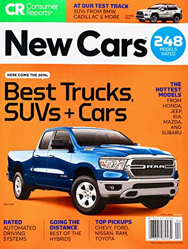 Consumer Reports New Cars April 2019 Best