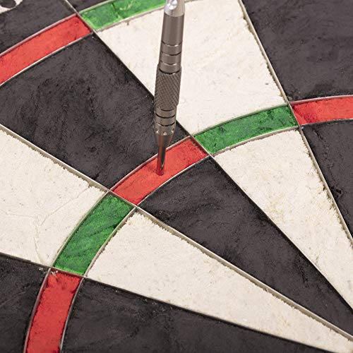 Unicorn Eclipse Pro Dart Board with Ultra Slim Segmentation - 30% Thinner Than Conventional Boards - For Increased Scoring and Reduced Bounce-Outs