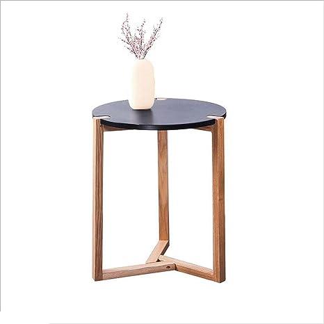 JUEJIDP Mesita nórdica pequeña Mesa de café Sala de Estar ...