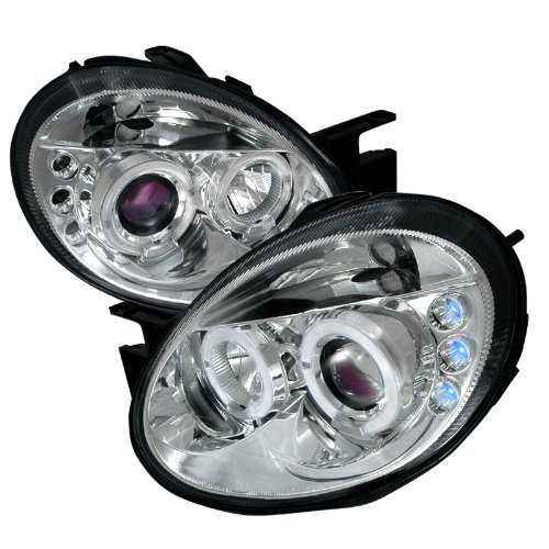 Spec-D Tuning LHP-NEO03-TM LED Projector Headlight - Dodge Neon Halo Headlights