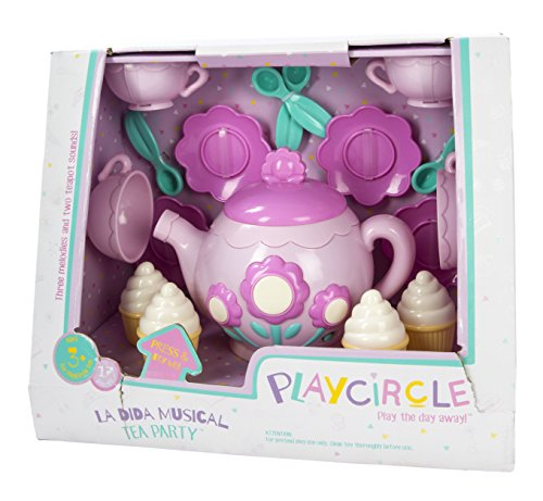 Play Circle Musical Tea Playset - Teaches and Fosters Creati