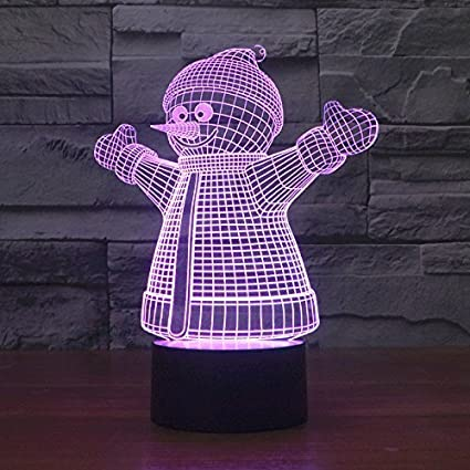 Avi/ón2 Decorative night lamp with 3D illusion of the Ahat brand with Smart Touch button for offices or homes