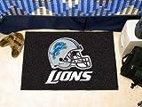 "Detroit Lions Starter Rug 19x30 "" """