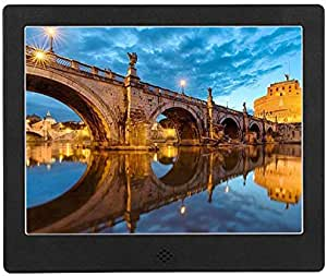 HDMI Input,USB//SD//Slots,Timing,Connecting with Ps4,Xbox,Laptop,TV Box,Game Host,Black Hahaiyu 13 Inch Digital Photo Frame,with 1280/×800 Resolution LED Display