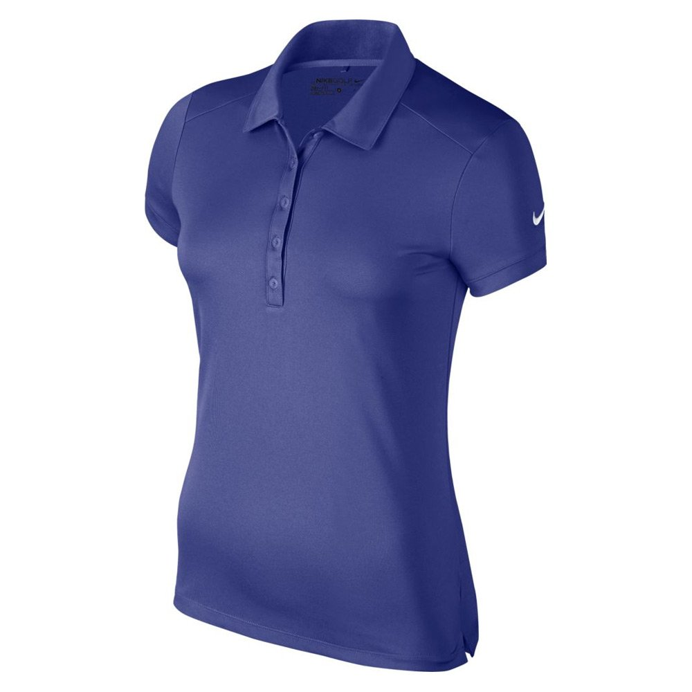 Nike Victory Solid Golf Polo 2016 Womens Deep Night/White X-Small