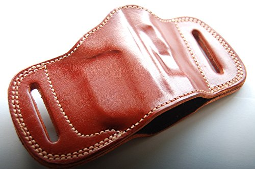 Cal38BPX Beretta PX 4 Storm Leather Belt Slide Holster Tan Black (TAN) (Storm Slide)