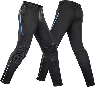 Explopur Pantalones de Ciclismo - Hombres Impermeable Ciclismo ...