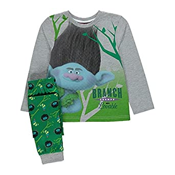 3f426527 Boys DreamWorks Trolls Branch Pyjamas Set 6-7 Years: Amazon.co.uk: Clothing
